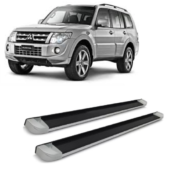 Estribo EVO Cool Silver - Pajero Full 5P*